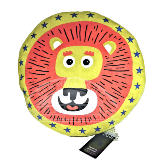 LLYKH Catherine Lansfield Circus Fun Lion Cushion (6)